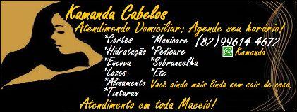 Fotos de Kamanda Cabeleireira em domicílio em Maceió